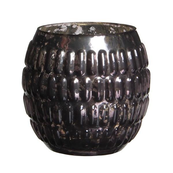 Stojan na svíčku Tavira Grey, 9 cm