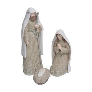 Sada 3 dekorativních sošek Bethlehem