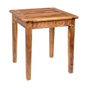 Zahradní stůl s deskou z teakového dřeva Massive Home Ravenna, šířka70cm