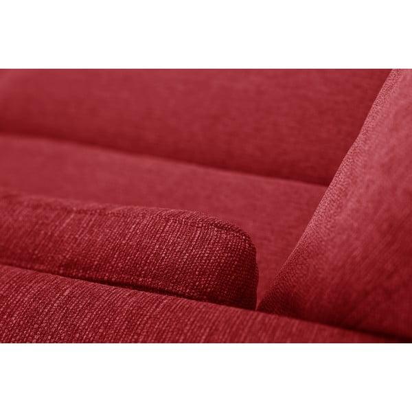 Červená dvoumístná pohovka Jalouse Maison Elisa