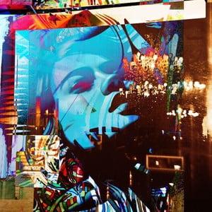 Obraz The Krystal Elitist, 30x30 cm