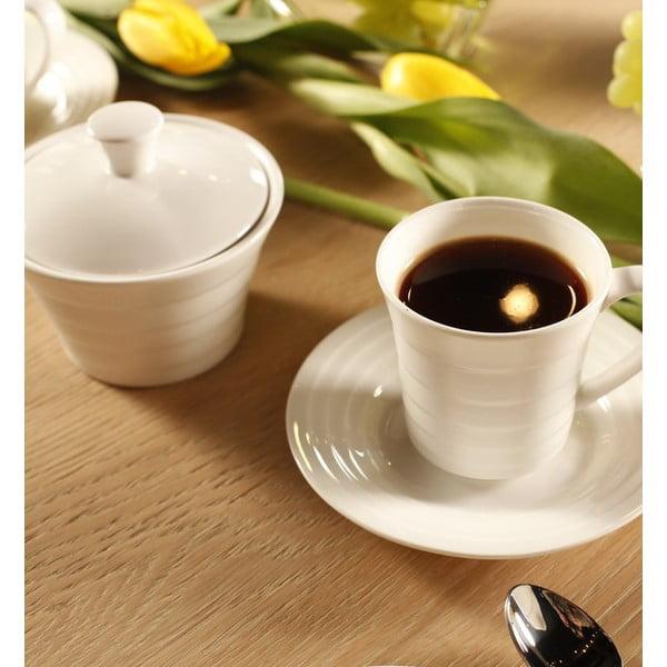 Vzorovaná kávová sada, 20dílná
