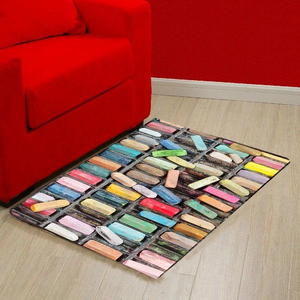 Vinylový koberec Chalk, 52x75 cm