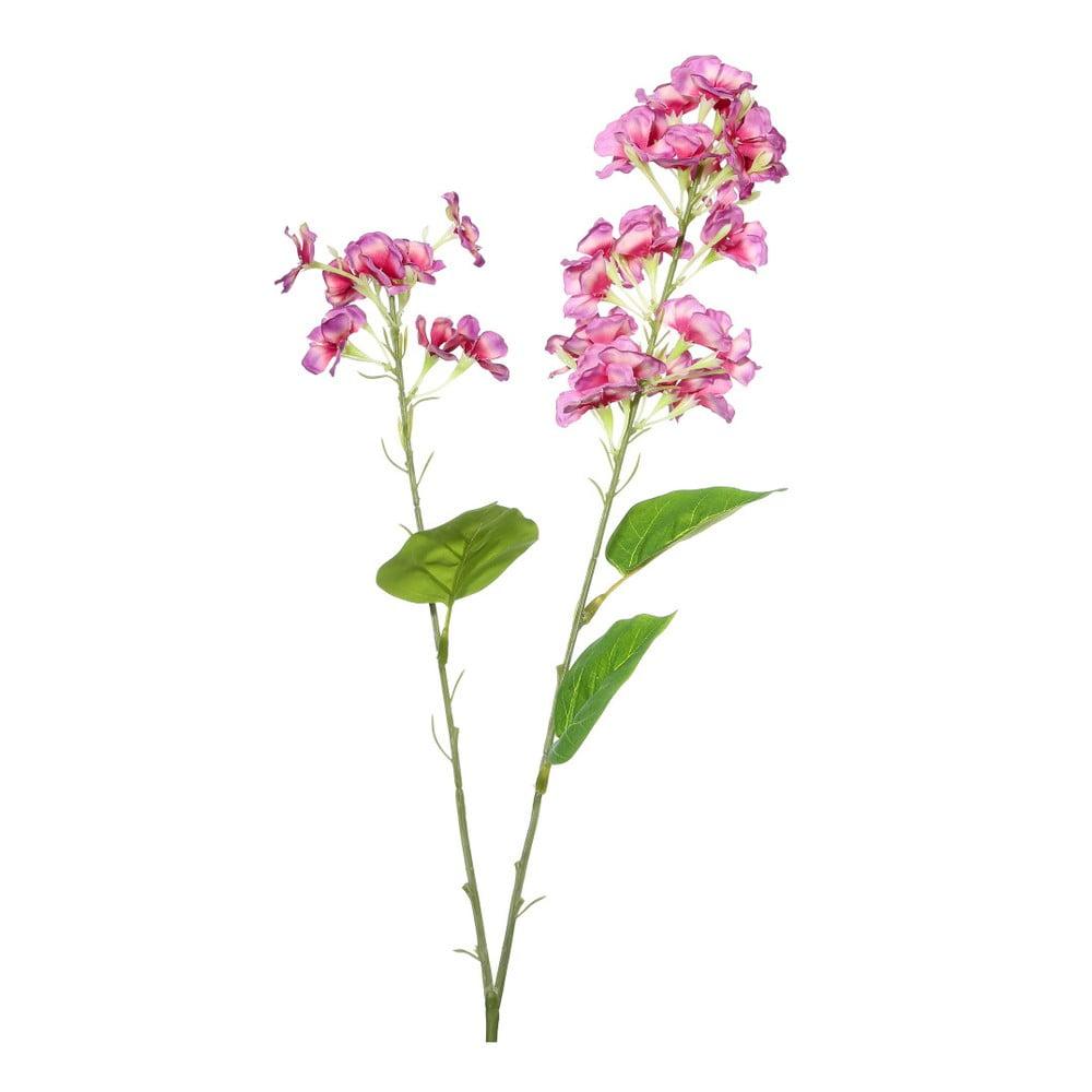 Umělá květina s fialovými květy Ixia Atieno, výška 76 cm | Bonami