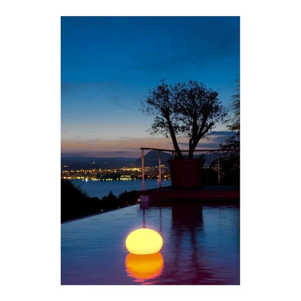 Náladové zahradní světlo Flatball S, 35x27 cm