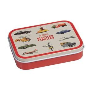 Sada náplastí v plechové krabičce Rex London Vintage Transport