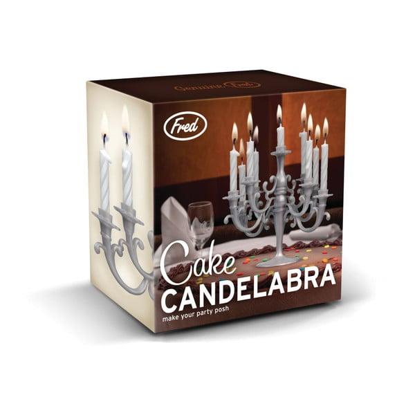 Svícen na dortové svíčky Fred & Friends Cake Candelabra