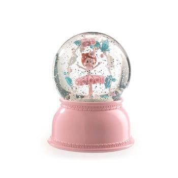 Lampă de veghe Djeco Balerina, roz imagine