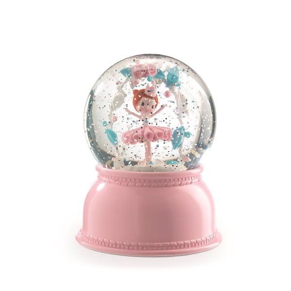 Balerina rózsaszín éjjeli lámpa - Djeco
