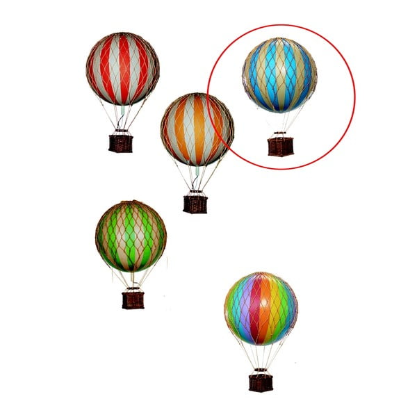 Model balónu Floating The Skies, modrý