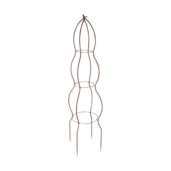 Półokrągła pergola z metalu do kwiatów Esschert Design Birdie