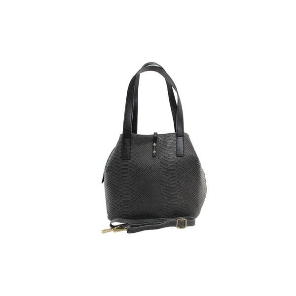 Kožená kabelka Betty Grigio