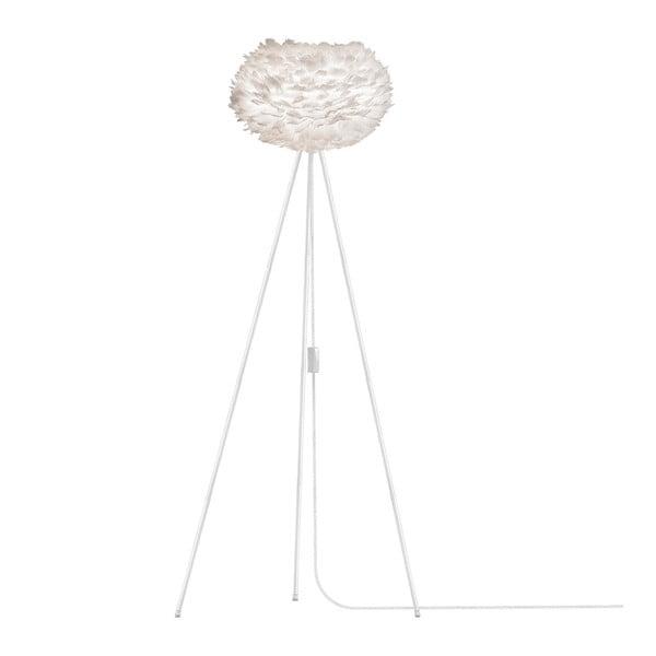 Bílé svítidlo z husího peří VITA Copenhagen EOS, Ø45cm