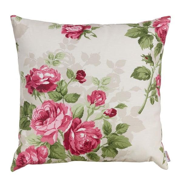 Polštář s náplní Pink Roses