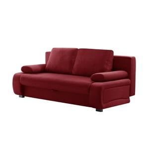 Canapea extensibilă Interieur De Famille Paris Bonheur, roșu