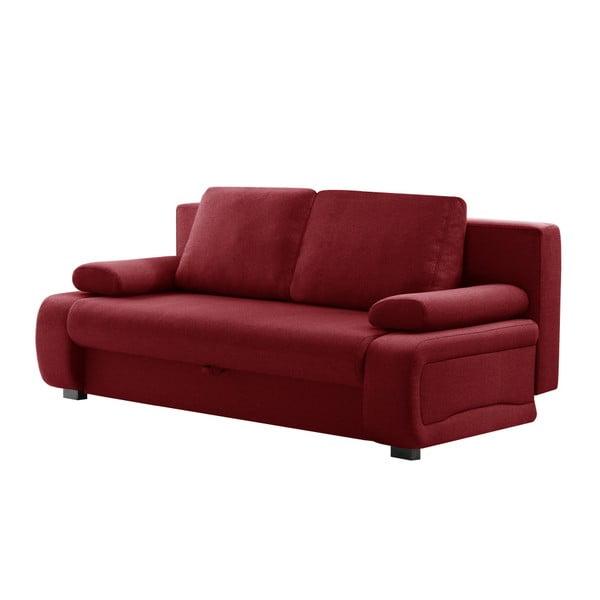 Bonheur piros háromszemélyes kinyitható kanapé - INTERIEUR DE FAMILLE PARIS