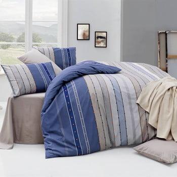 Lenjerie de pat cu cearșaf Rulling Royal, 200 x 220 cm de la Nazenin Home