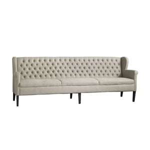 Sofa Kingston Beige, 240x92x66 cm