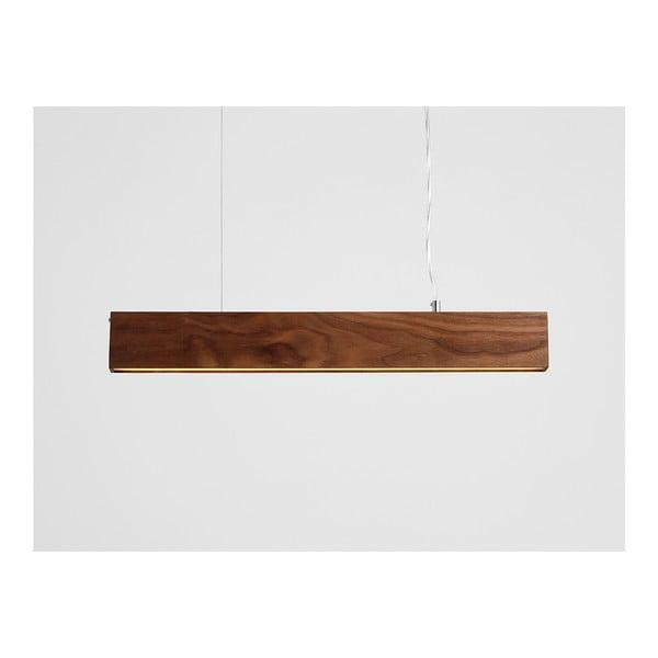 Závěsné svítidlo z ořechového dřeva Custom Form Line Plus L Woody