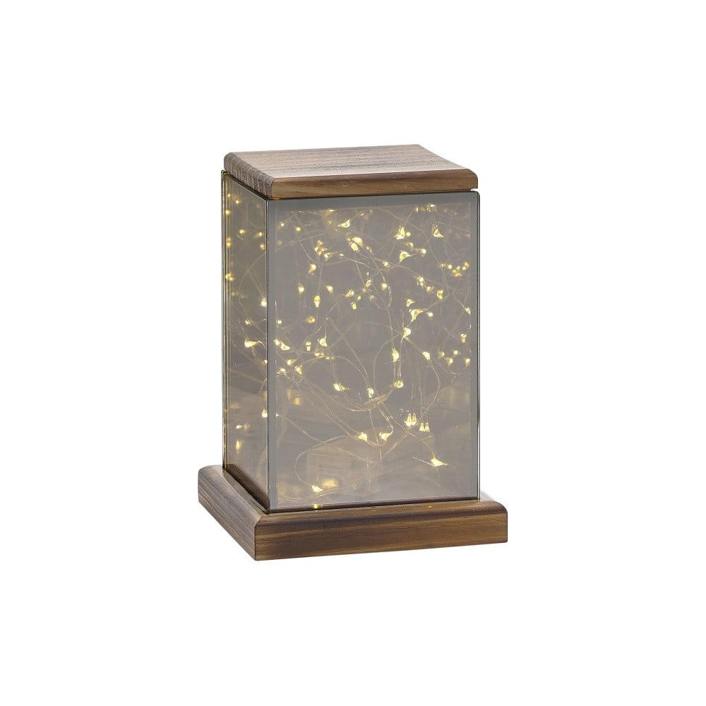 Lucerna s LED světýlky Villa Collection Lantern, 17,5 cm