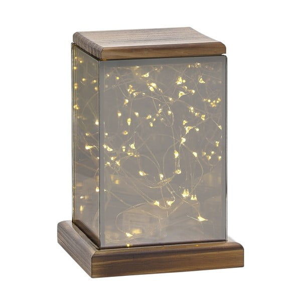 Lucerna s LED světýlky Villa Collection Lantern, 17,5 cm