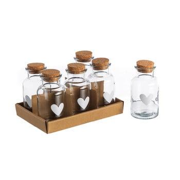 Set 6 pahare Heart, 250 ml de la Unimasa