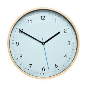 Modré nástěnné hodiny Hübsch Bell, ø31cm