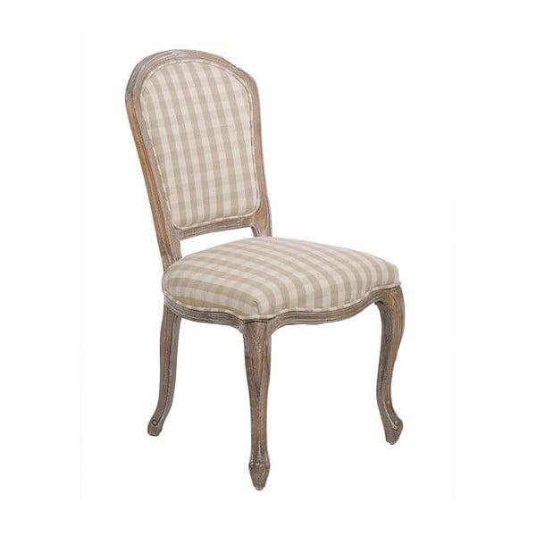 Židle Checquers Beige, 50x50x96 cm