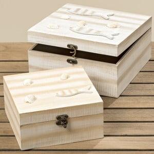 Sada 2 úložných krabiček Boltze Shelly