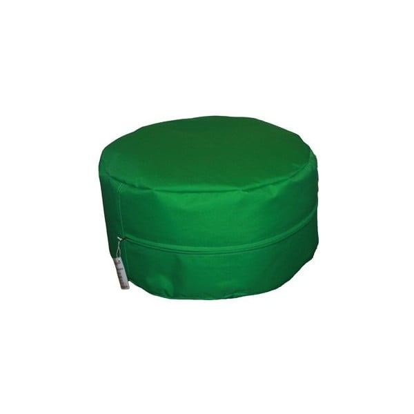 Outdoor sedací vak, zelený