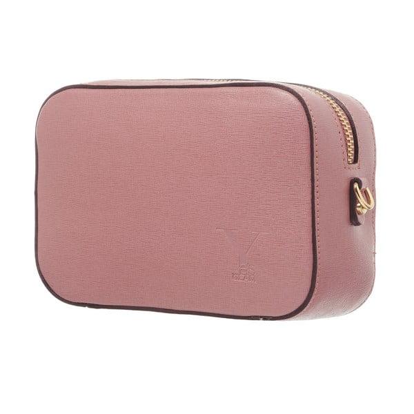 Kožené psaníčko Little High Pink