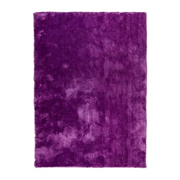 Covor cu smocuri Universal Nepal Violet, 140 x 200 cm de la Universal