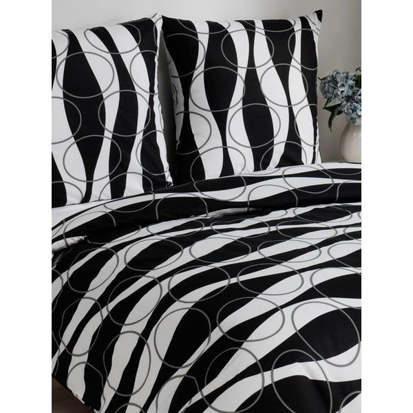 Povlečení Elenor Black, 200x200 cm