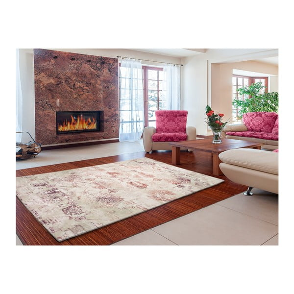 Béžový koberec Universal Chenile Beig, 140x200cm