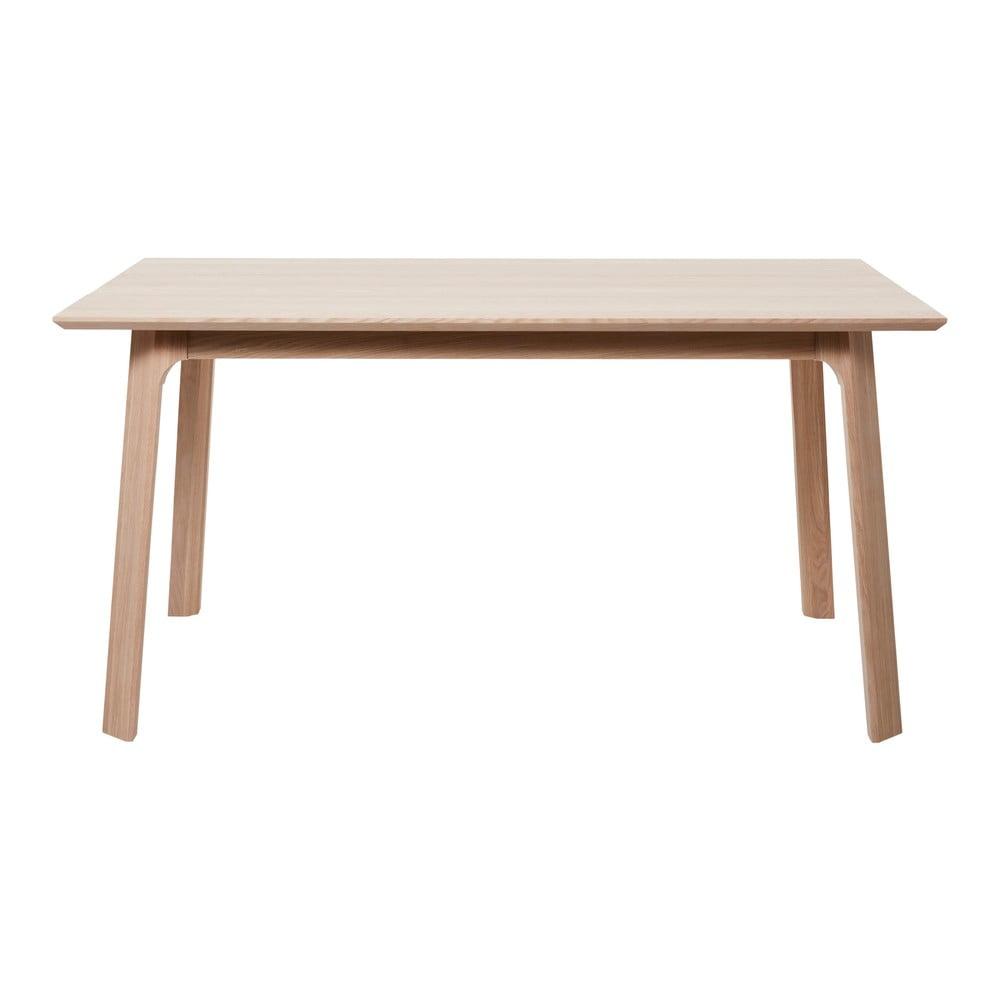 Jídelní stůl z bílého dubového dřeva Unique Furniture Vivara Lilly Unique Furniture