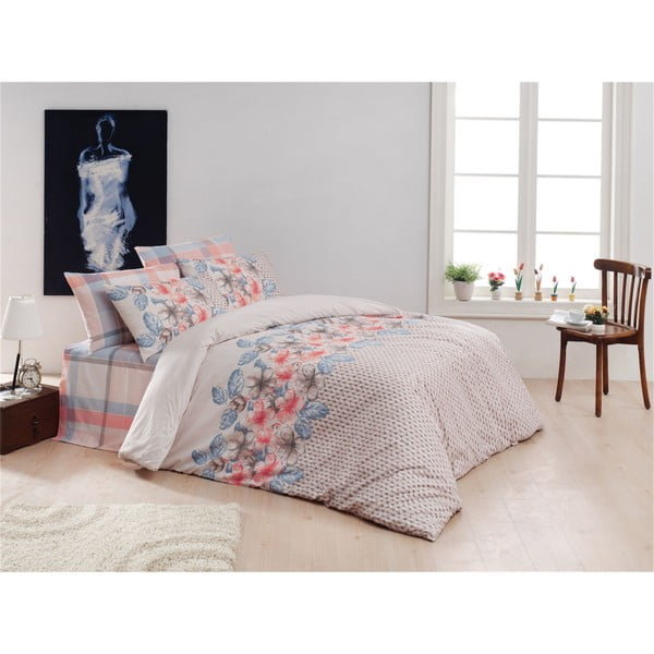 Lenjerie de pat cu cearșaf Sierra, 200 x 220 cm