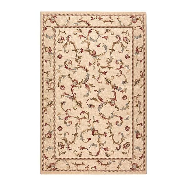 Vlněný koberec Byzan 542 Beige, 140x200 cm