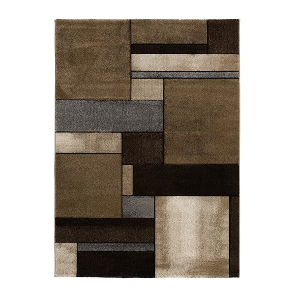 Hnědý koberec Universal Malmo Brown, 120x170cm
