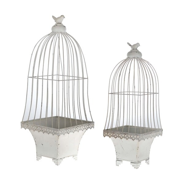 Sada 2 květináčů Cages