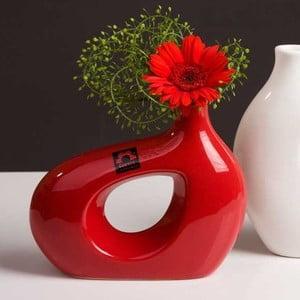 Váza Marna 18 cm, červená