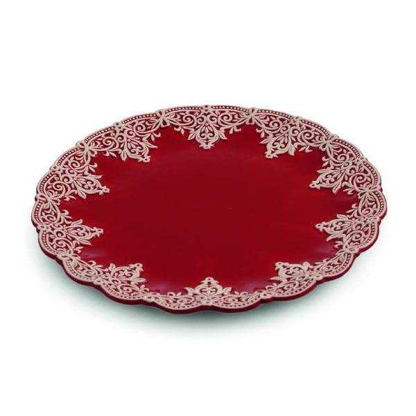 Tác Praline Round Red