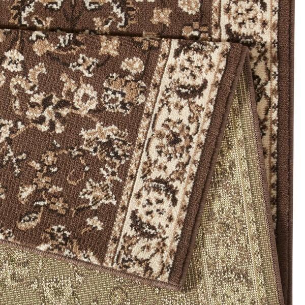 Koberec Basic Vintage, 80x250 cm, hnědý