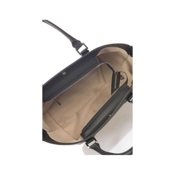 Kožená kabelka Krole Kayleen, černá