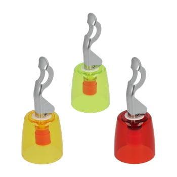 Set 3 capace din inox pentru sticlă Metaltex de la Metaltex