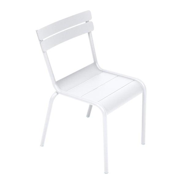 Bílá dětská židle Fermob Luxembourg