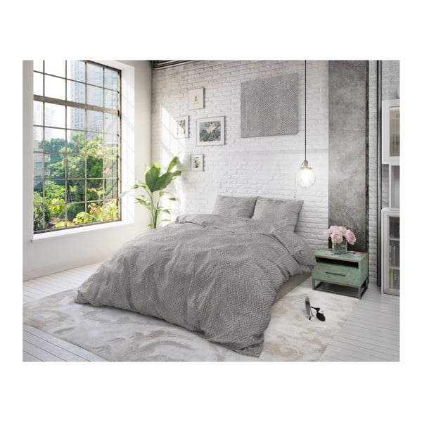 Bavlněné povlečení na jednolůžko Sleeptime Caro, 140 x 220 cm