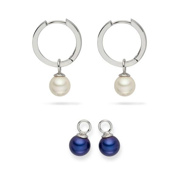 Sada 2 perlových náušnic Nova Pearls Copenhagen Didiane