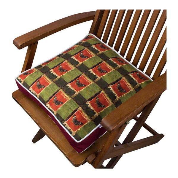Pernă pentru scaun Gravel Creffa, 42x42cm,cuumplutură