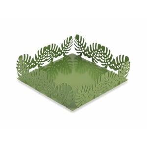 Zelený stojan na ubrousky Villa d'Este Foglie Porta