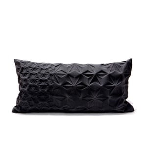 Černý povlak na polštář Mikabarr Amit, 60 x 30 cm